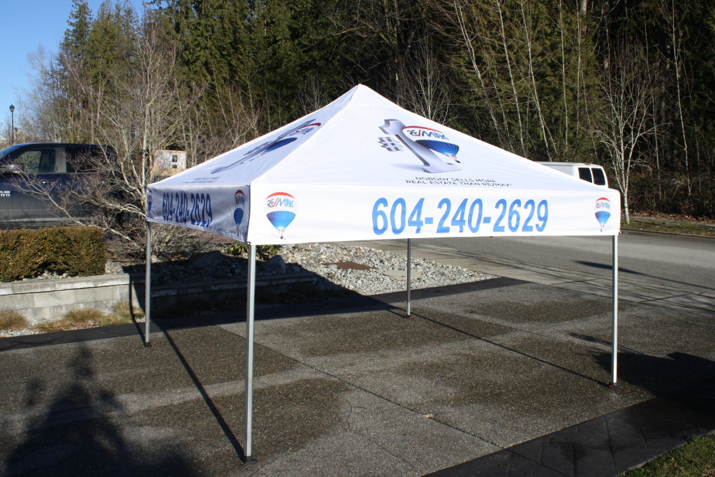 10ft x 10ft x 8ft tent available