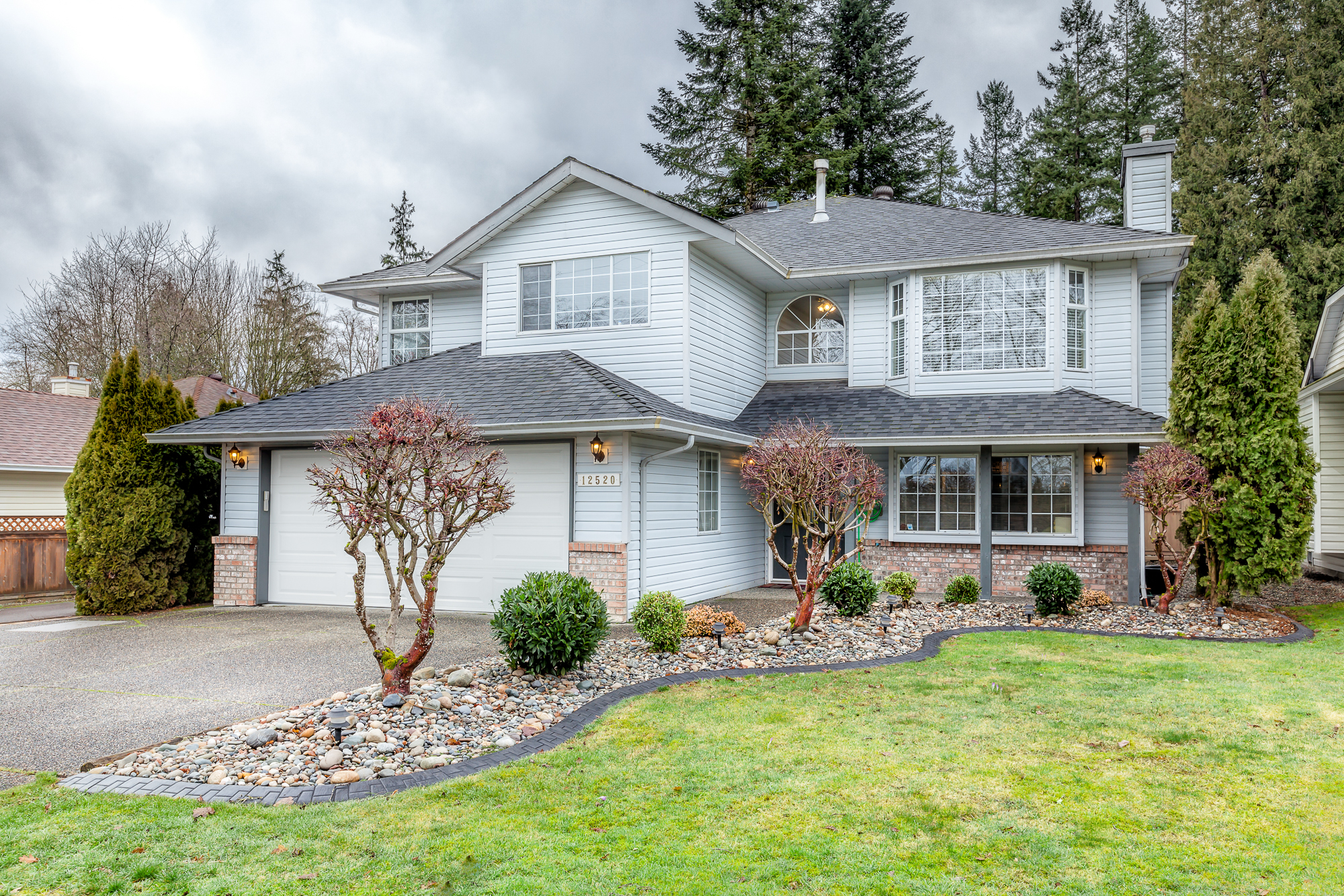 Just Listed!! Updated Basement Entry Home in West Maple Ridge